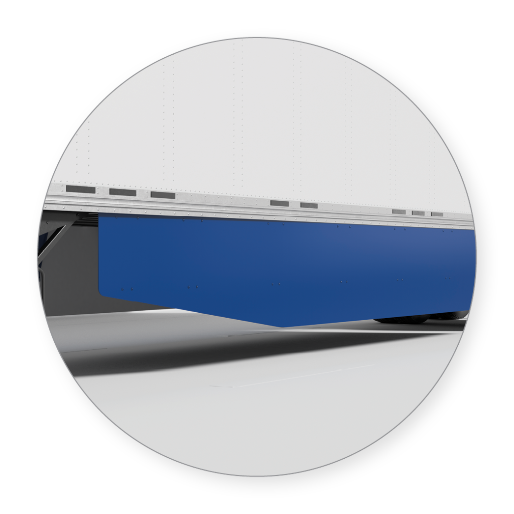 EDGE SKIRT, Aerodynamic trailer skirt