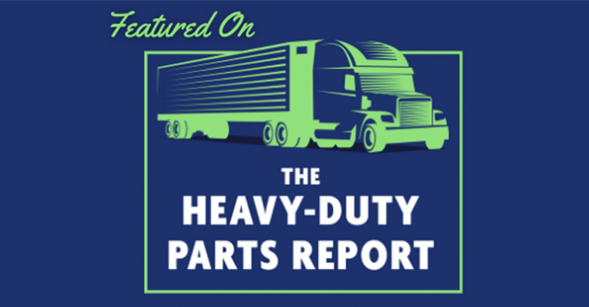 Todd P. McGuire, Vice Preside of Sales at TRANSTEX, featured on The Heavy-Duty Parts Report with Jamie Irvine.